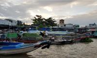 芹苴市充满吸引力的旅游目的地——丐冷水上集市