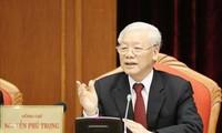 揭露针对各级党代会和越共十三大的各种阴谋