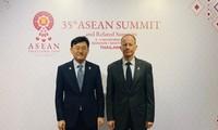 韩美外交高官在泰国举行会谈