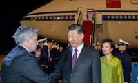 中国国家主席习近平同巴西总统博索纳罗举行会谈