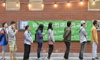 中国香港特别行政区第六届区议会选举举行