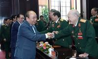 阮春福出席越南退伍军人协会成立30周年纪念仪式
