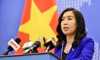 越南外交部就中国在东海的活动作出反应