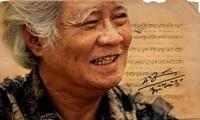 已故作曲家阮文子及其创作的歌曲