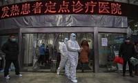 COVID 19 疫情:中国湖北省通报新增死亡病例242例