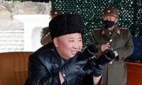 金正恩再次指导朝鲜人民军前线远程炮兵部队火力打击训练