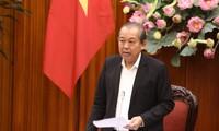 越南政府常务副总理张和平主持越南企业国有资本管理委员会会议