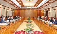越共中央政治局呼吁全民携手应对新冠肺炎疫情