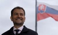 斯洛伐克新政府宣誓就职