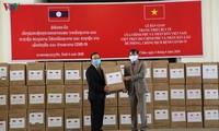 老挝高度评价越南提供的援助