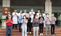 越南4名新冠肺炎患者康复,治愈出院病例数量超过正在治疗的病例