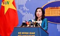 """越南要求中国取消所谓的""""西沙区""""和""""南沙区""""的设立"""