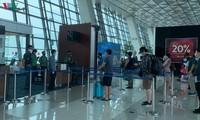 把正在印度尼西亚的越南公民接回国