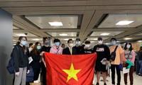 把在美越南公民安全接回国