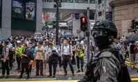 中国香港反对美国取消其特殊贸易地位