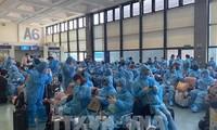 340名越南公民从新加坡回国