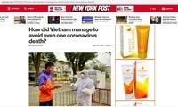 外国媒体称赞越南抗击新冠肺炎疫情的成功