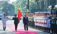 阮春福出席第十届全军决胜竞赛运动大会