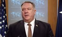 美国国务卿蓬佩奥支持东盟对东海的立场
