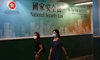 中国全国人大常委会全票通过香港国安法