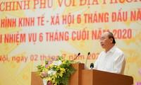 阮春福就下半年经济社会发展措施提出指导意见