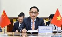 越中双边合作指导委员会秘书长视频会晤举行