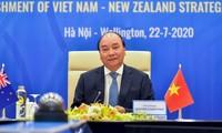越南与新西兰建立战略伙伴关系