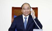 越南政府总理阮春福与欧盟委员会主席冯德莱恩通电话