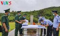 越南奠边省边防部队阿帕寨边防检查站与中国江城边界管理大队举行实地会谈