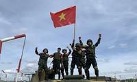 越南人民军代表团在2020年国际军事比赛中取得优异成绩
