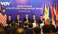 东盟外长会议按议事日程举行多场会议
