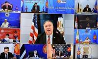 东盟-美国外长会议:美国承诺为东盟带来繁荣