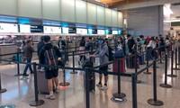    将350名在美国的越南公民接回国