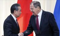 俄罗斯与中国反对单方面政策和贸易保护主义