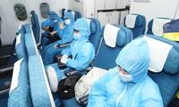 越南:因Covid-19暂停数月后,首趟常规国际商业航班复飞
