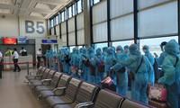 把在中国台湾的越南公民安全接回国