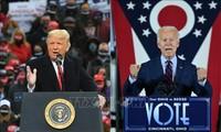 美国九千万选民已经完成投票