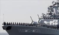 俄罗斯军舰巡航亚太地区