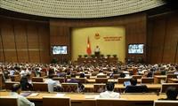 越南第十四届国会第十次会议继续进行