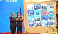 各国领导人高度评价《区域全面经济伙伴关系协定》的价值