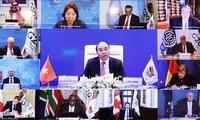 越南呼吁二十国集团向发展中国家提供财政、技术帮助