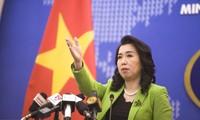 越南反对侵犯本国在东海主权的行为