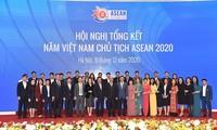 越南政府总理阮春福:越南在东盟2020中展现了威望,本领和智慧