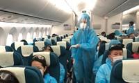 将在安哥拉的越南公民接回国