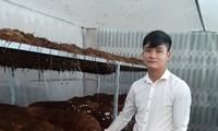 许长江——以蚯蚓养殖模式成功创业的青年