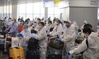 将在俄罗斯的越南公民接回国
