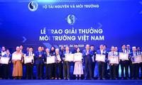 《第五届越南环境暨自然资源与环境主题新闻奖》颁奖仪式举行