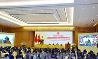 越南政府与各地视频会议开幕