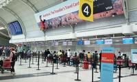 把在日本、加拿大、中国台湾的越南公民安全接回国