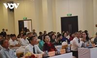 越南国会主席阮氏金银出席越南第一届国会选举75周年纪念见面会